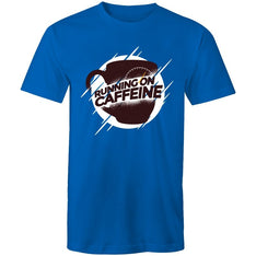 Men's Running On Caffeine T-shirt - The Hippie House