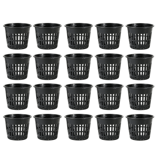 6 Inch Mesh Net Pot - Pack Of 20 - The Hippie House