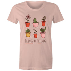Women's Plants Are Friends T-shirt - The Hippie House