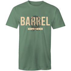 Men's Beer Barrel Printed T-shirt - The Hippie House