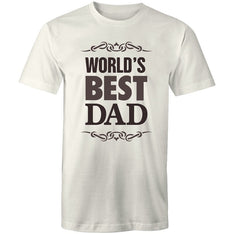 Men's Worlds Best Dad T-shirt - The Hippie House