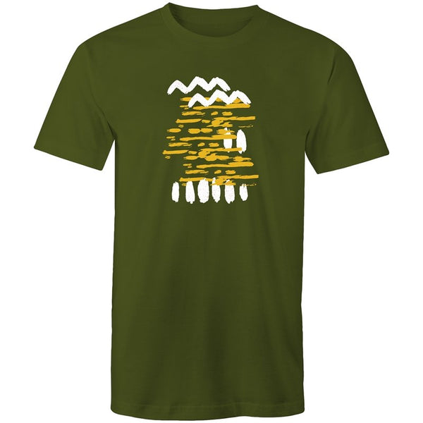 Men's Abstract Pattern T-shirt - The Hippie House