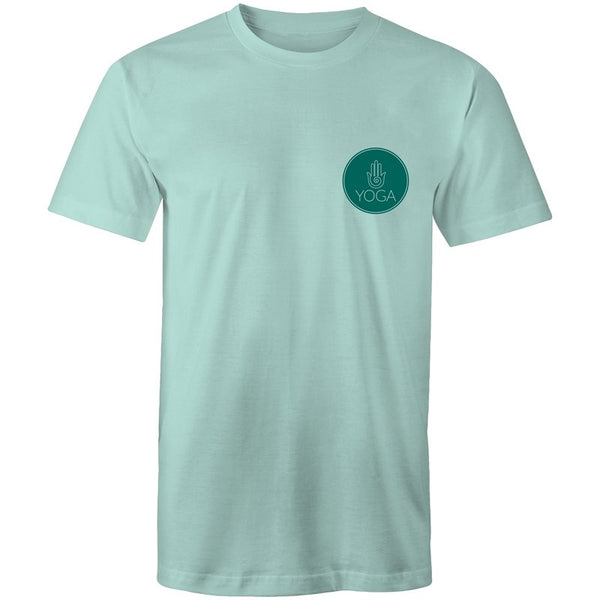 Men's Yoga Logo Pocket Print T-shirt - The Hippie House