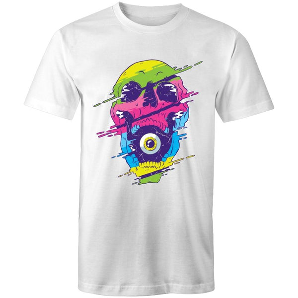 Men's Psychedelic Skull Speaker T-shirt - The Hippie House