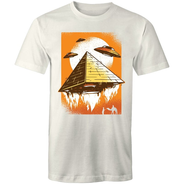 Men's UFO Pyramid T-shirt - The Hippie House