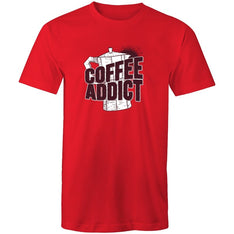 Men's Coffee Addict T-shirt - The Hippie House