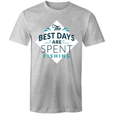 Men's Best Days Are Spent Fishing T-shirt - The Hippie House