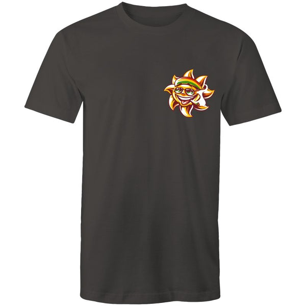 Men's Sporty Rasta Sun T-shirt - The Hippie House