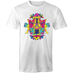 Men's Psychedelic Cat T-shirt - The Hippie House