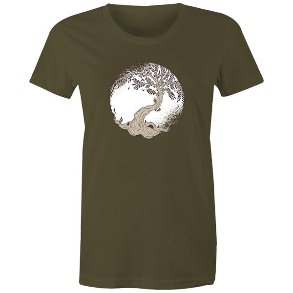 Women's Tree Of Life T-shirt - The Hippie House