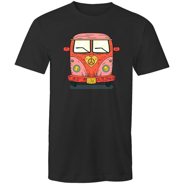 Men's Hippie Love Bus T-shirt - The Hippie House