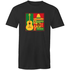 Men's Mexican Music Festival T-shirt - The Hippie House