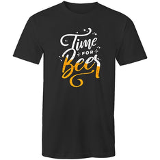 Men's Time For Beer T-shirt - The Hippie House