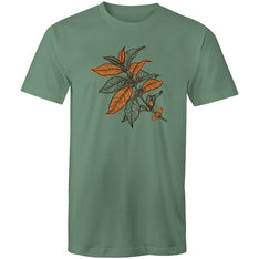 Men's Coffee Plant T-shirt - The Hippie House