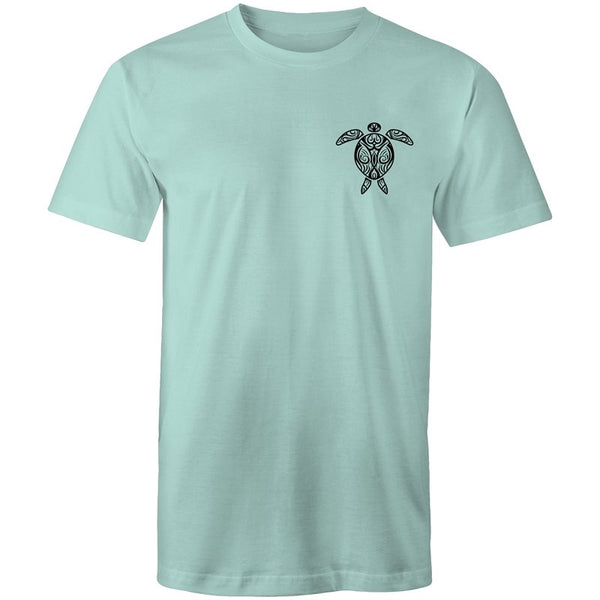 Men's Beach Turtle Pocket T-shirt - The Hippie House