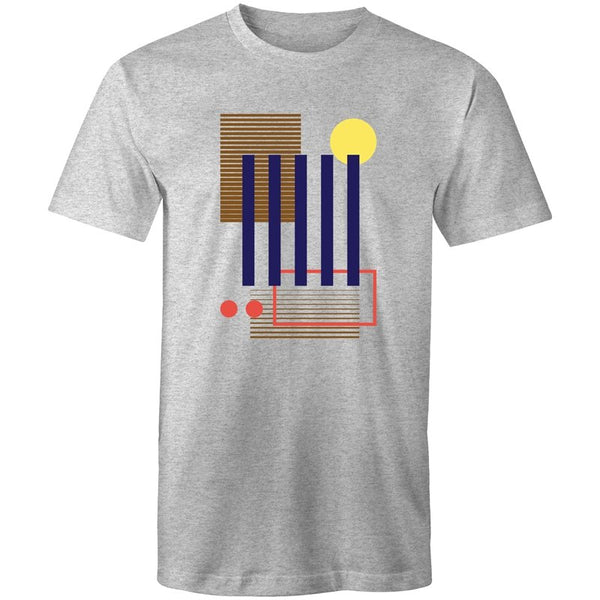 Men's Abstract Wall T-shirt - The Hippie House