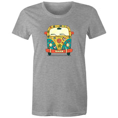 Women's Hippie Peace Van T-shirt - The Hippie House