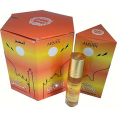 Ahsan Attar Sandal Perfume Oil - 8ml - The Hippie House