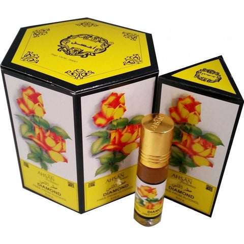 Ahsan Diamond Perfume Oil - 8ml - The Hippie House