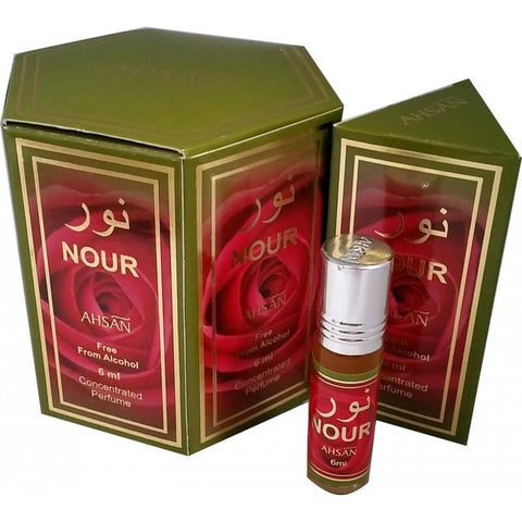 Ahsan Nour Perfume Oil - 6ml - The Hippie House