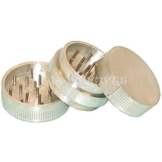 "Aluminum 3pc Herbal Grinder - 2"" - The Hippie House"