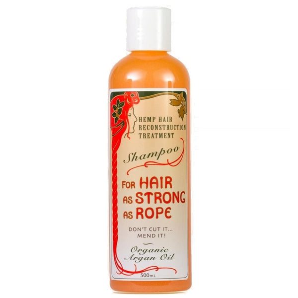Argan Hemp Shampoo - 500ml - The Hippie House