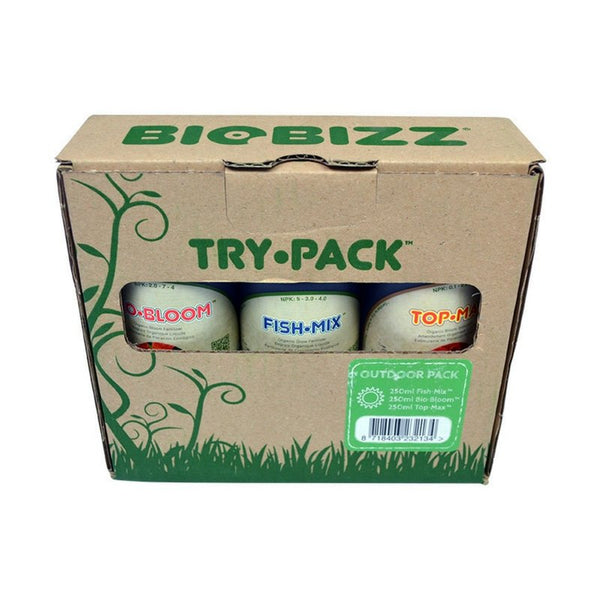 BioBizz Outdoor Nutrient Starter Pack - The Hippie House