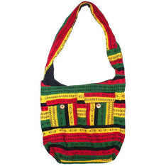 Boho Hobo Rasta Coloured Shoulder Bag - The Hippie House