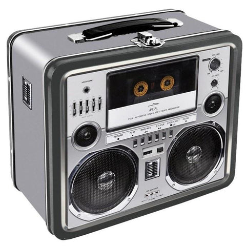 Boombox Cassette Deck Retro Lunch Box - The Hippie House