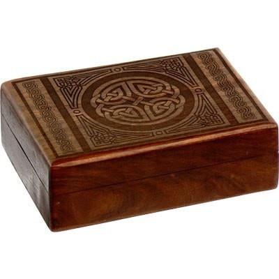 Celtic Laser Cut Wooden Box - The Hippie House