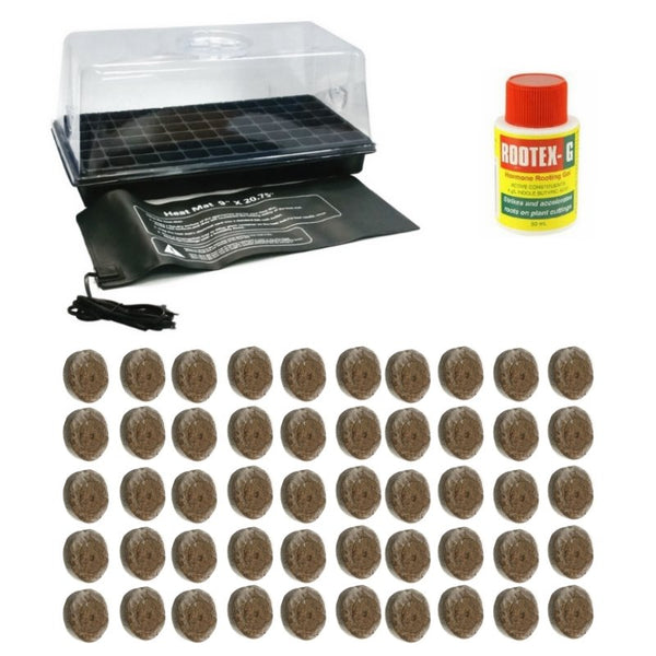 Base Coco Pellet Propagation Kit - For Seeds + Smaller Plants - The Hippie House