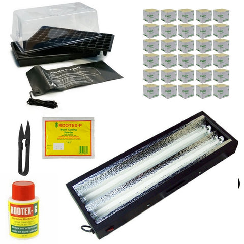 Complete Propagation Kit - Fluorescent T5 - For Larger Plants - The Hippie House