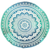 Concentric Round Mandala Tapestry - The Hippie House