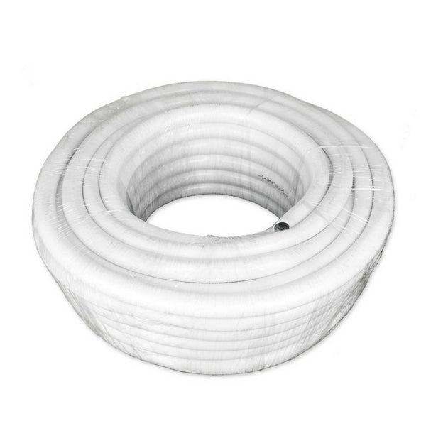 CoolTube – White Soft Poly Hose - 13mm - 30M Roll - The Hippie House