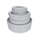 CoolTube – White Soft Poly Hose - 25mm - 30M Roll - The Hippie House