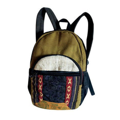 Cool Hippie Styled 100% Cotton Backpack - The Hippie House