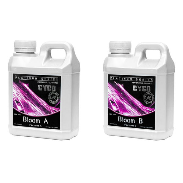 Cyco Platinum Series Bloom A/B Set - 1L - The Hippie House