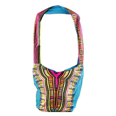 Dashiki Hobo Bag - Assorted Colours - The Hippie House