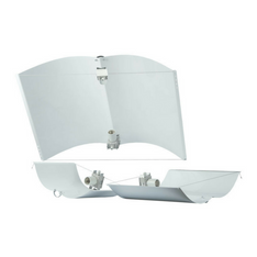 Defender Adjusta Wing Reflector With Lamp Holder - 100 X 70cm - The Hippie House