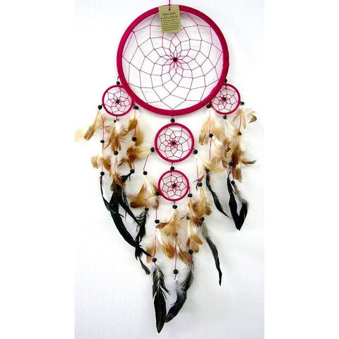 Pink Dream Catcher - Traditional - The Hippie House