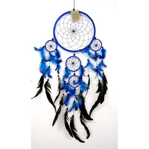 Blue Dream Catcher - Traditional - The Hippie House