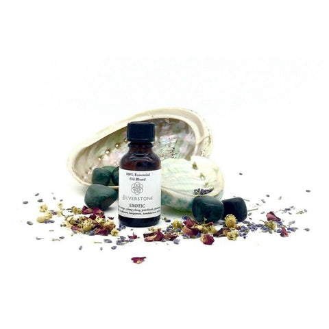 Essential Oil Blend 25ml - Exotic - The Hippie House