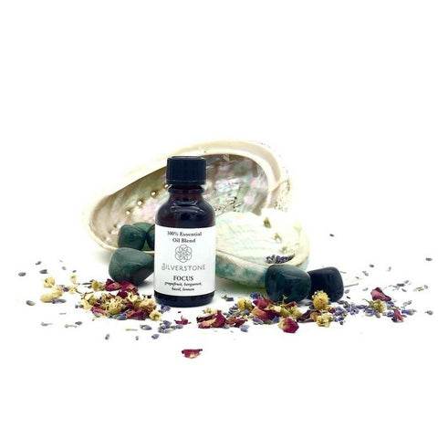 Essential Oil Blend 25ml - Focus - The Hippie House