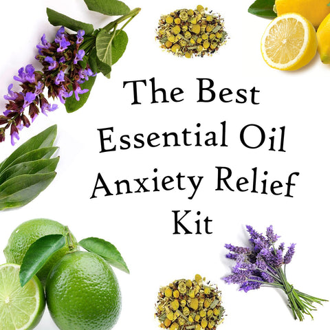 Essential Oils For Anxiety - The Hippie House