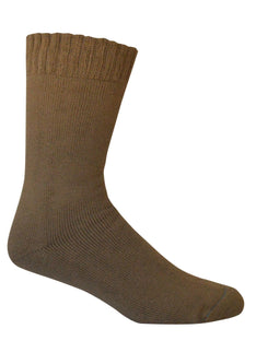 Extra Thick Brown Bamboo Socks - The Hippie House