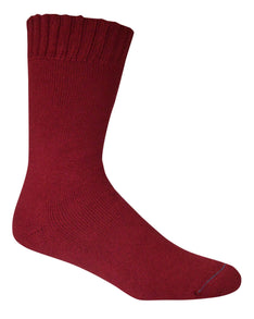 Extra Thick Burnt Red Bamboo Socks - The Hippie House