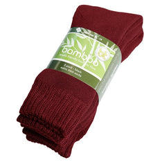 Extra Thick Burnt Red Bamboo Socks - 3 Pack - The Hippie House