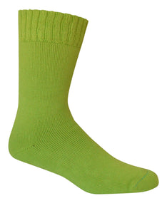 Extra Thick Lime Bamboo Socks - The Hippie House