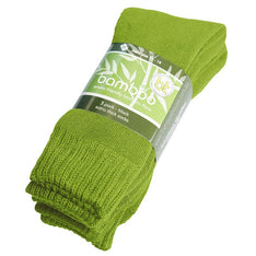 Extra Thick Lime Bamboo Socks - 3 Pack - The Hippie House