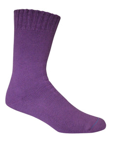 Extra Thick Purple Bamboo Socks - The Hippie House